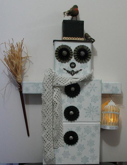 Snowman front